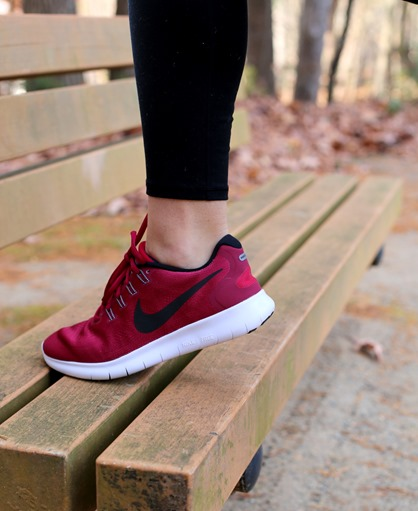 Maroon Nike Shoes
