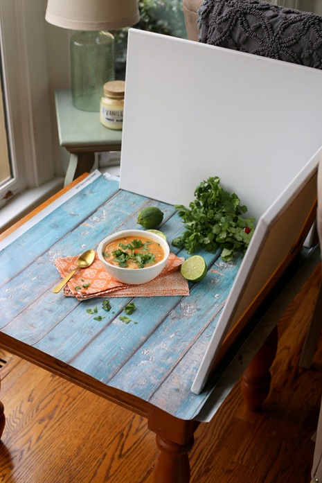 Food Blogger Photography Set Up