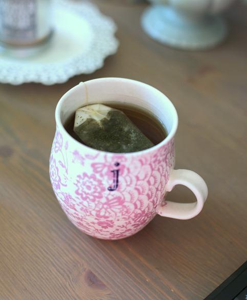 j anthropologie mug and tea