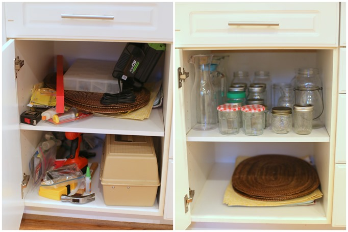 a simplified life cabinets