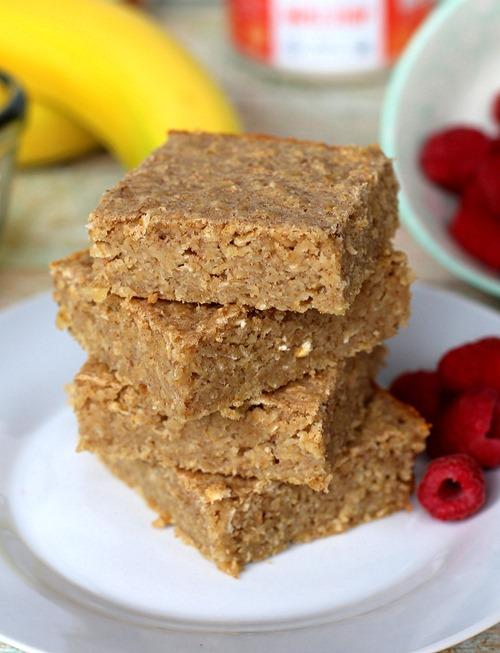 Easy Healthy Blender Breakfast Bars