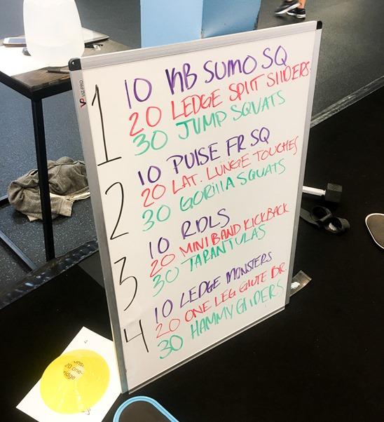 Burn Boot Camp Leg Workout