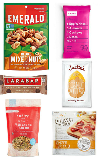 healthy hospital snacks postpartum
