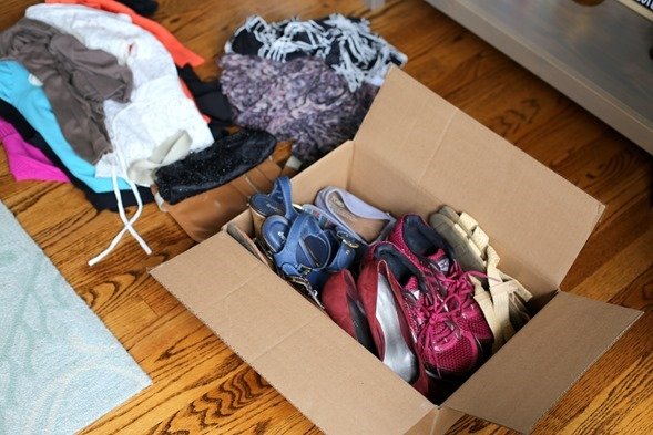 nesting clothes and shoes