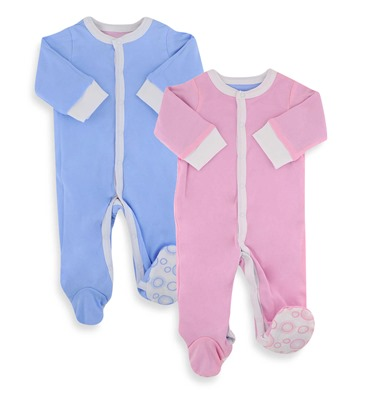 pink or blue onesie