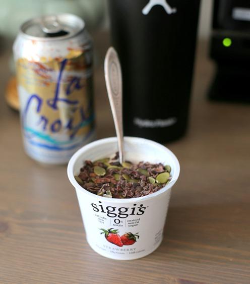 siggi's strawberry yogurt