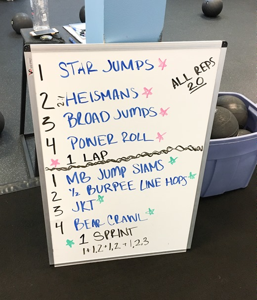 Athletic Conditioning Stack Workout Burn Boot Camp