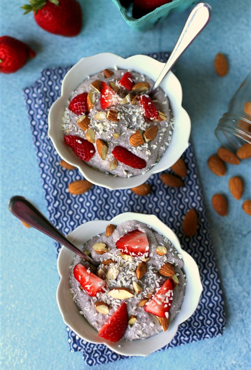 Blender Chia Seed Pudding