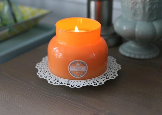 Pomegranate Citrus Capri Blue Candle
