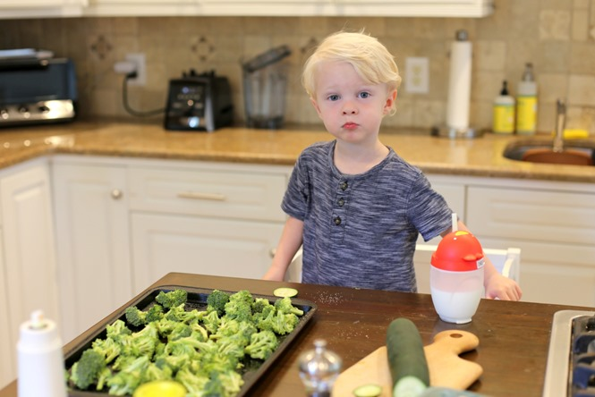 Toddler Cooking Help