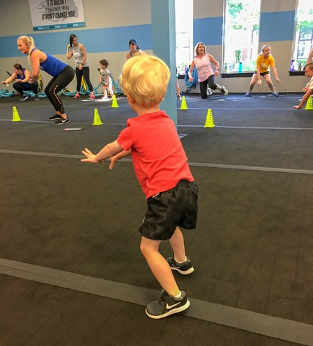mommy and me boot camp