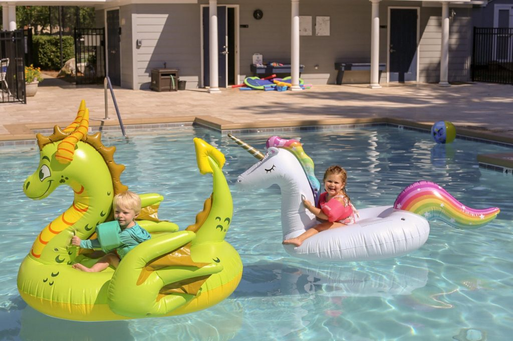 Three Year Old Birthday Pool Party