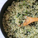 Zoe's Kitchen Cauliflower Rice Recipe