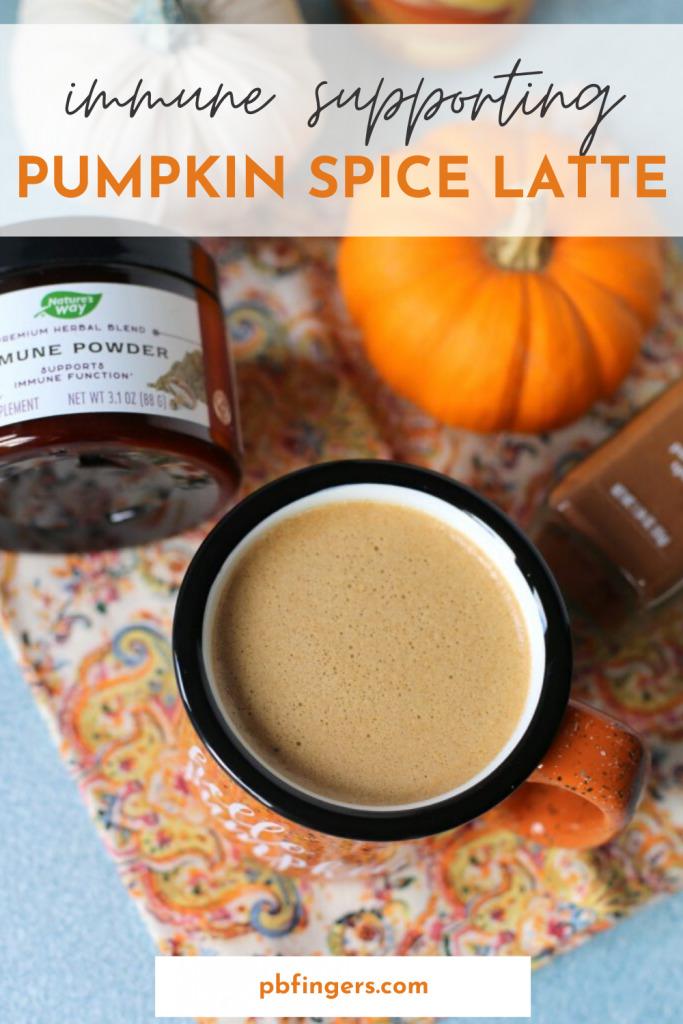 Immune Supporting Pumpkin Spice Latte