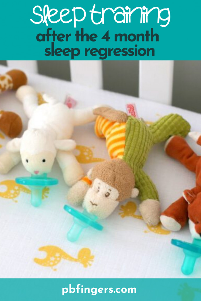 Sleep Training After the 4 Month Sleep Regression