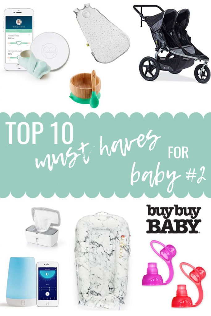 10 Baby Products I didn't Use with Baby #1 That I Love with Baby #2