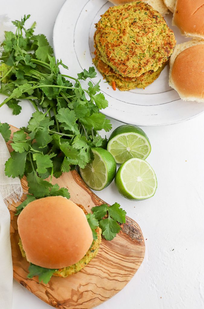 Thai Chickpea Burgers