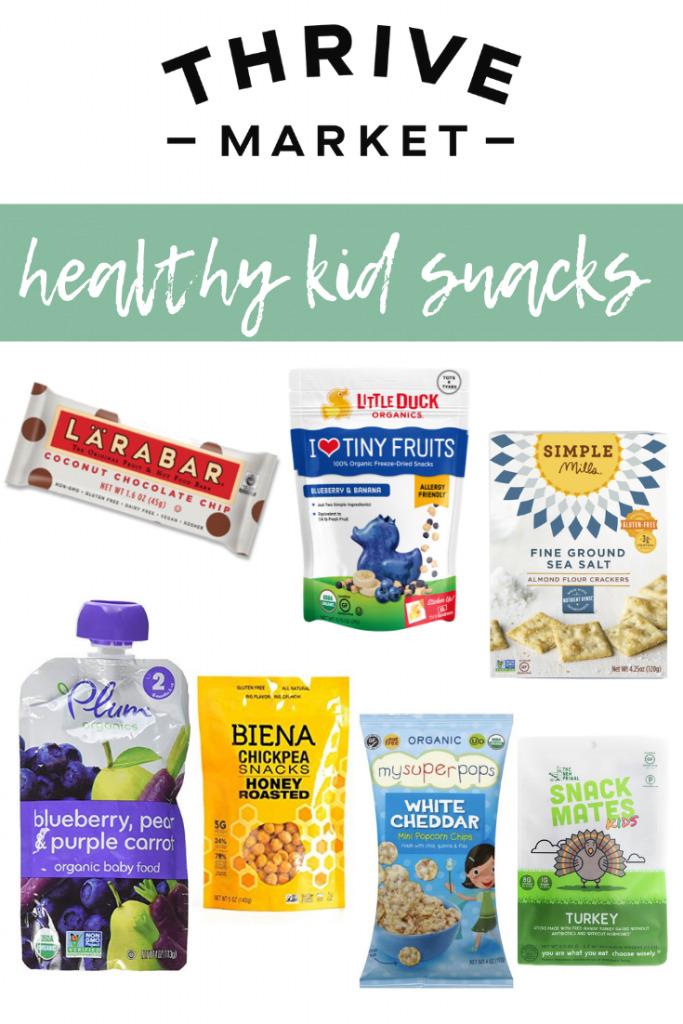 Thrive Market Healthy Kid Snacks