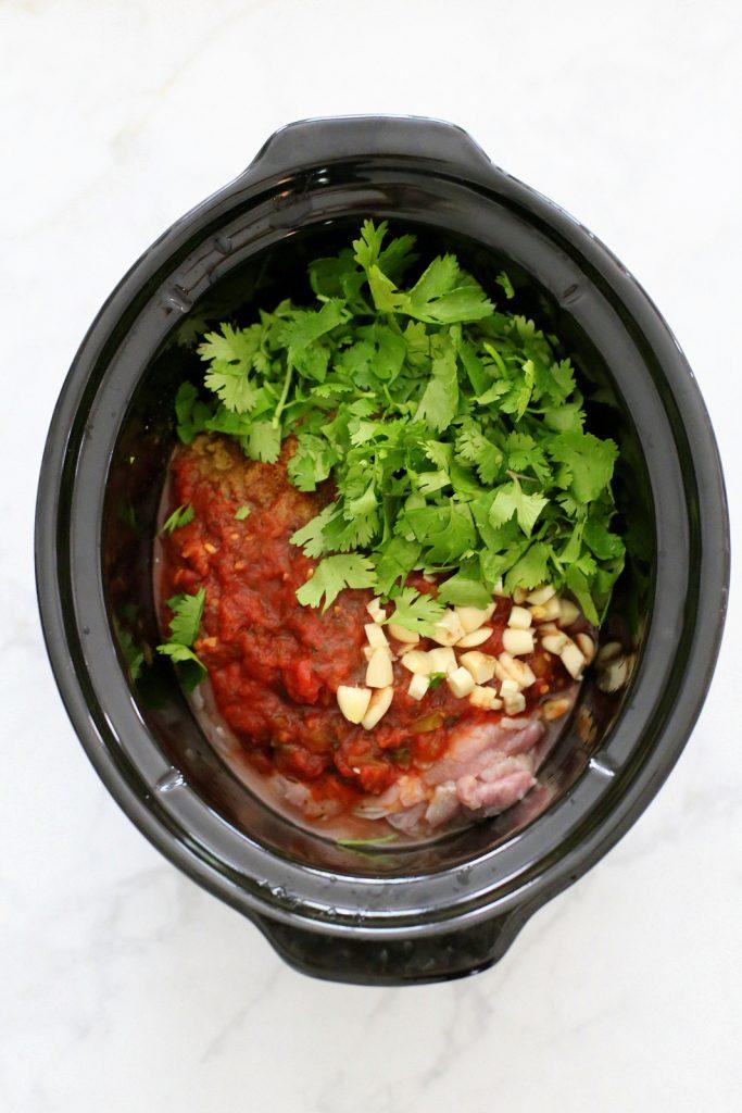 slow cooker cilantro lime salsa chicken