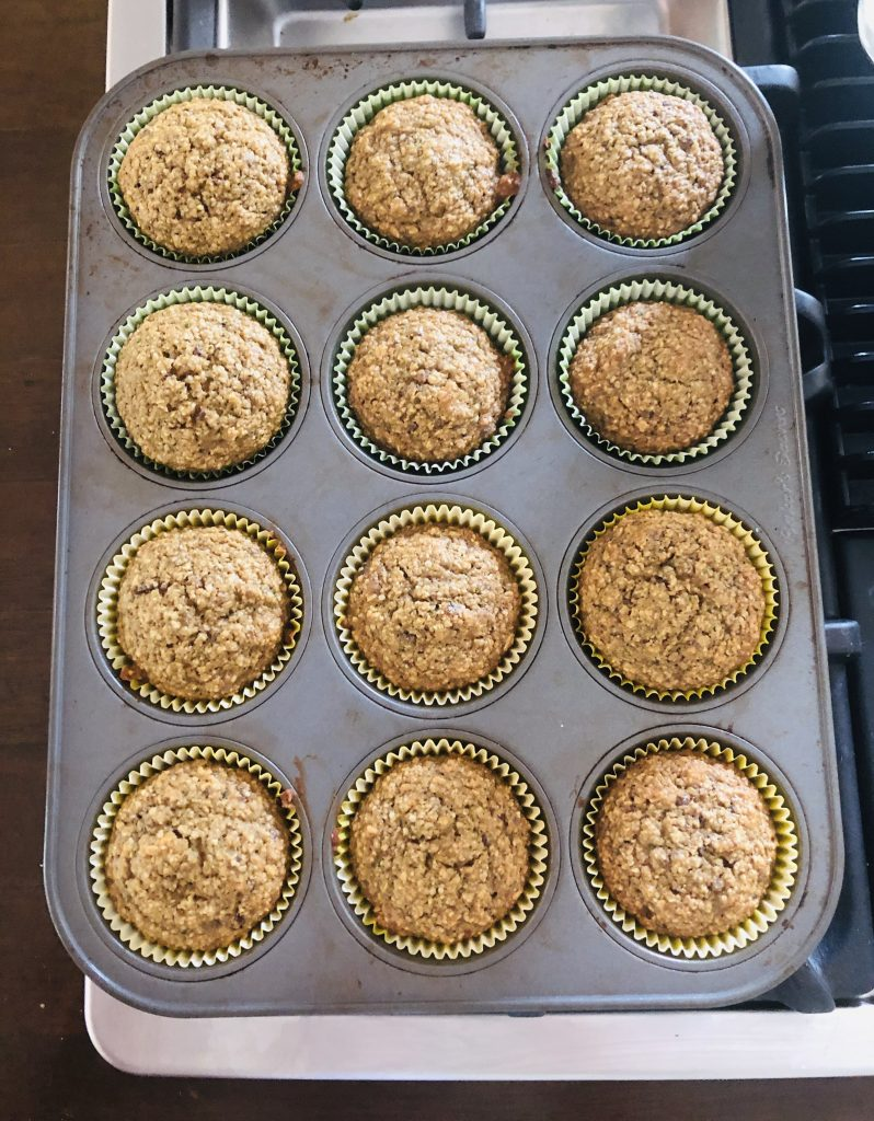 pinch of yum zucchini muffins