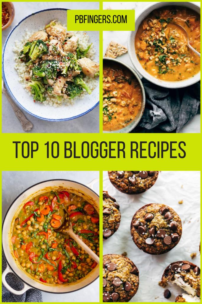 Top 10 Blogger Recipes