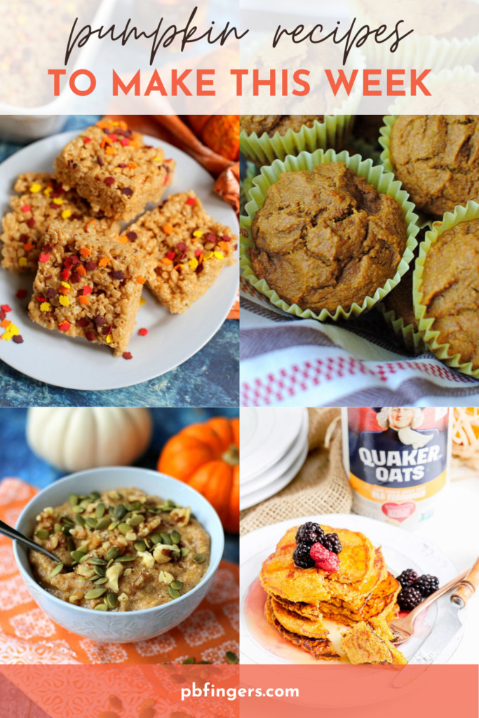 Pumpkin Recipes to Try This Week