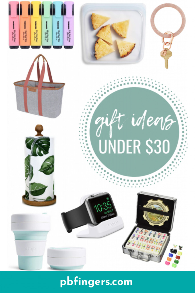 PBF Gift Guide: Gifts Under $30