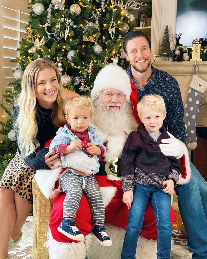 santa family pic