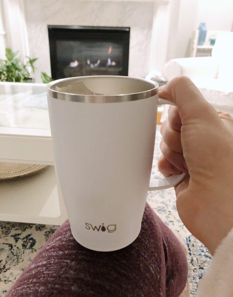 Swig Coffee Mug White