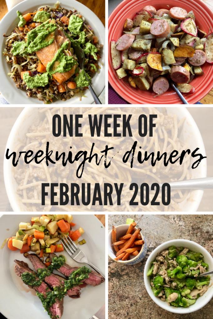 Week of Weeknight Dinners