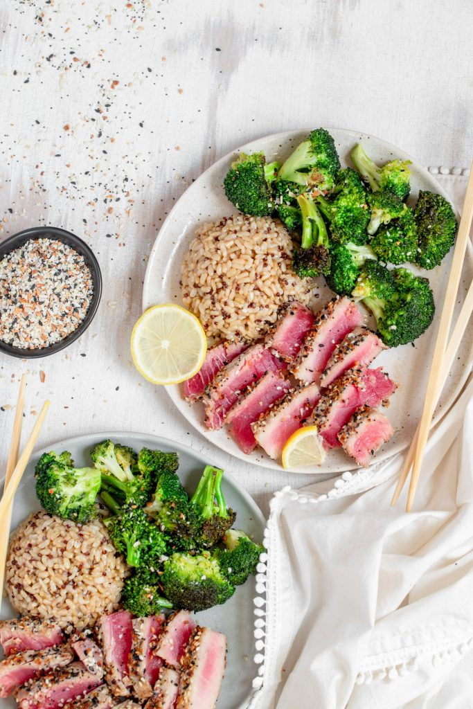 Everything Bagel Seared Tuna
