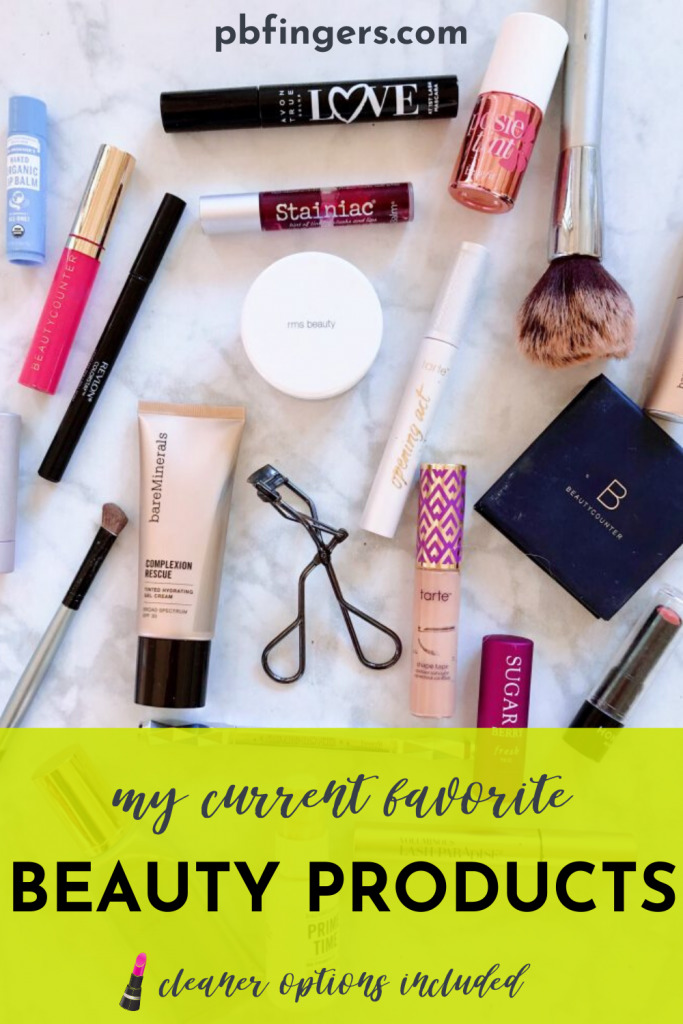 My Current Favorite Beauty Products