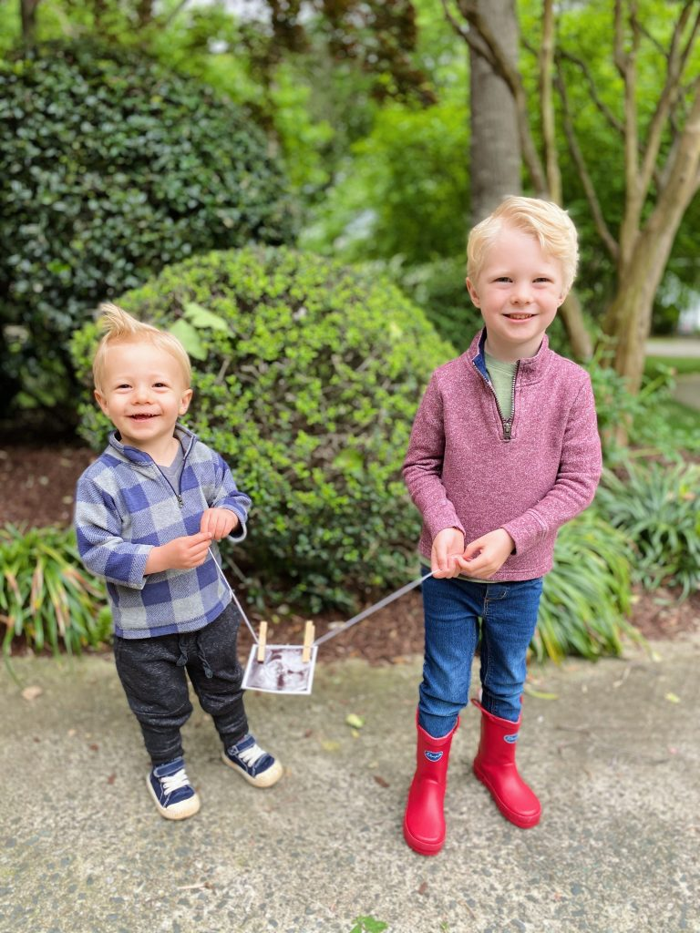 Chase and Ryder and Baby #3 Announcement