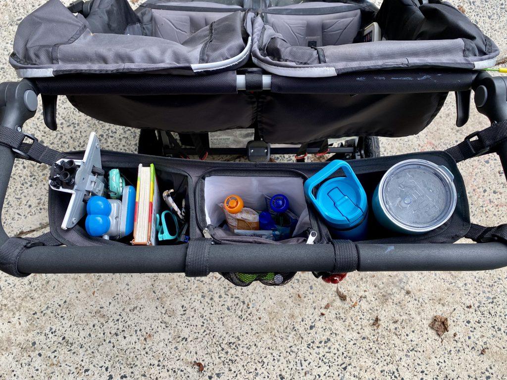 double BOB stroller organizer
