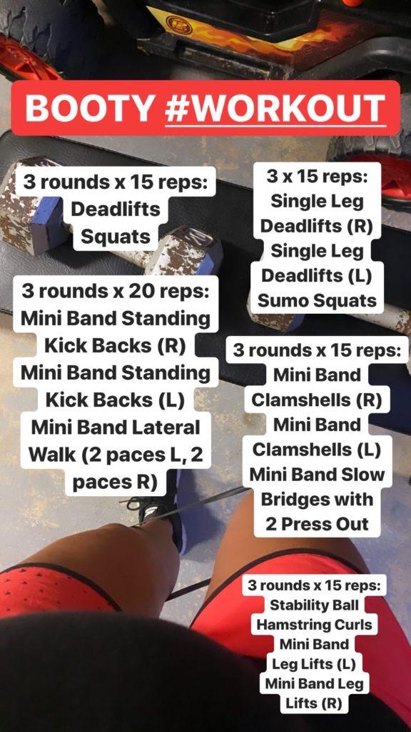 Booty Workout Prenatal
