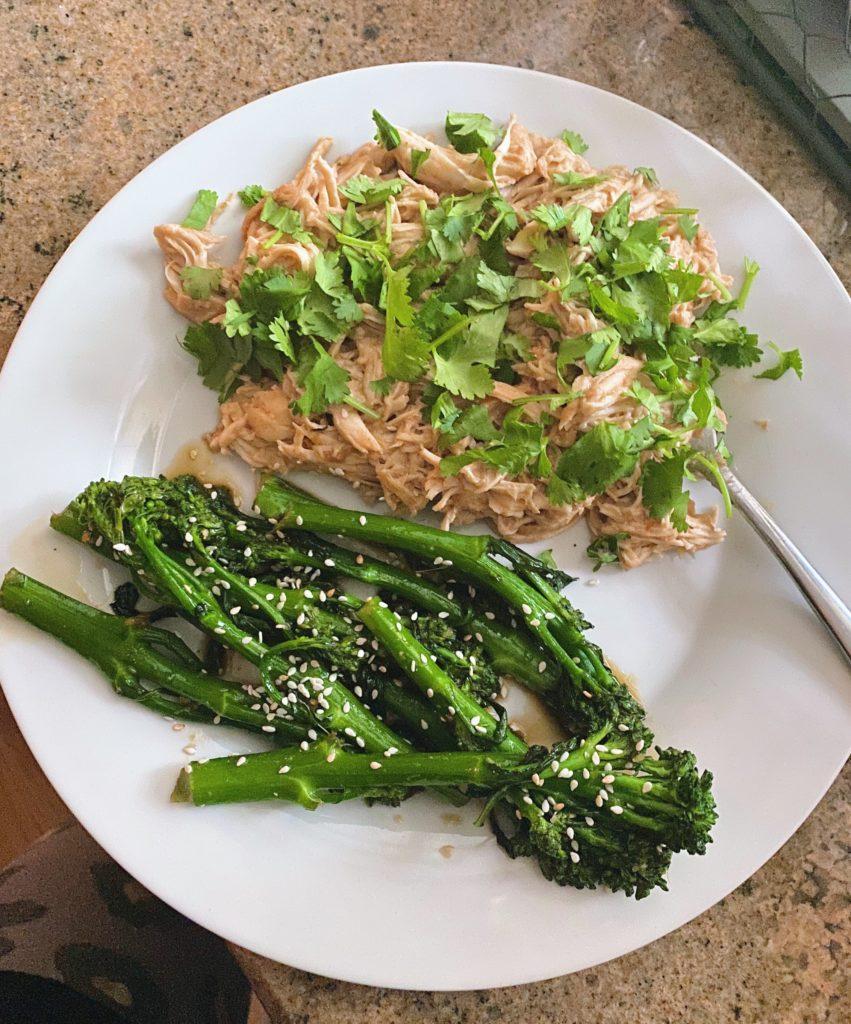 thai chicken broccolini
