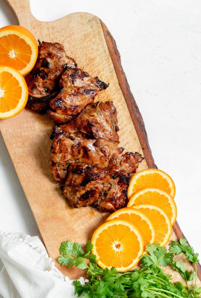 Orange Juice Chicken Marinade
