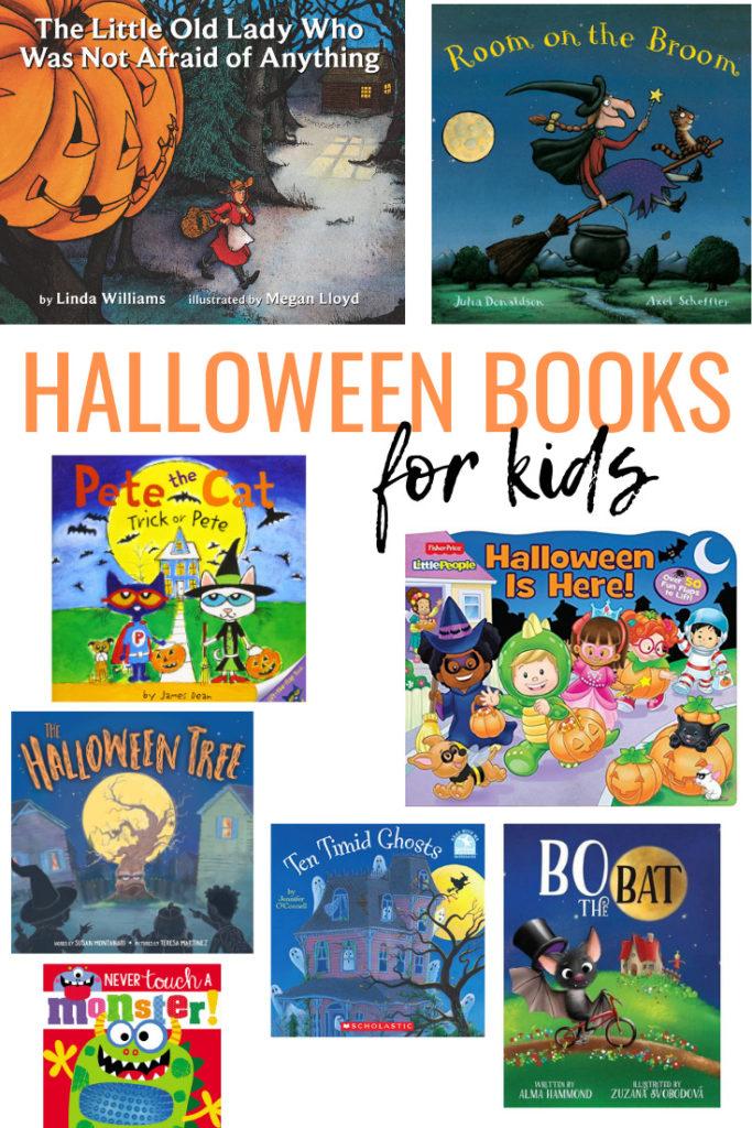 Livros de Halloween para Crianças