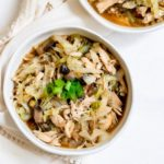 Ginger Chicken Cabbage Bowl