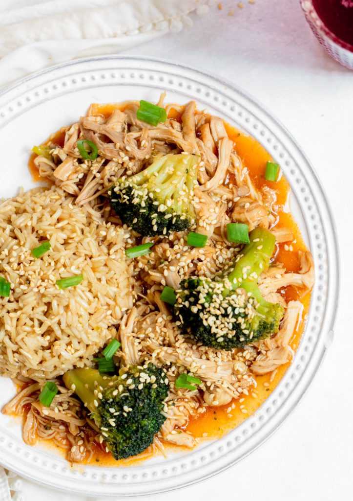 Instant Pot Honey Garlic Chicken and Broccoli