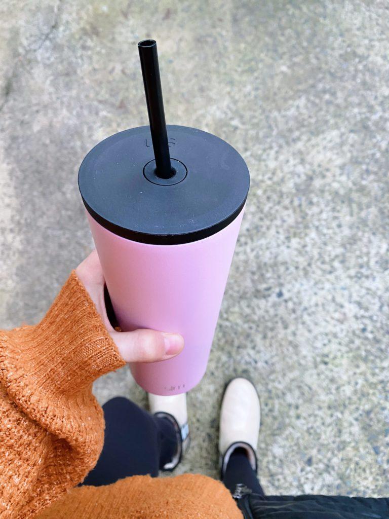 Simple Modern Tumbler pink