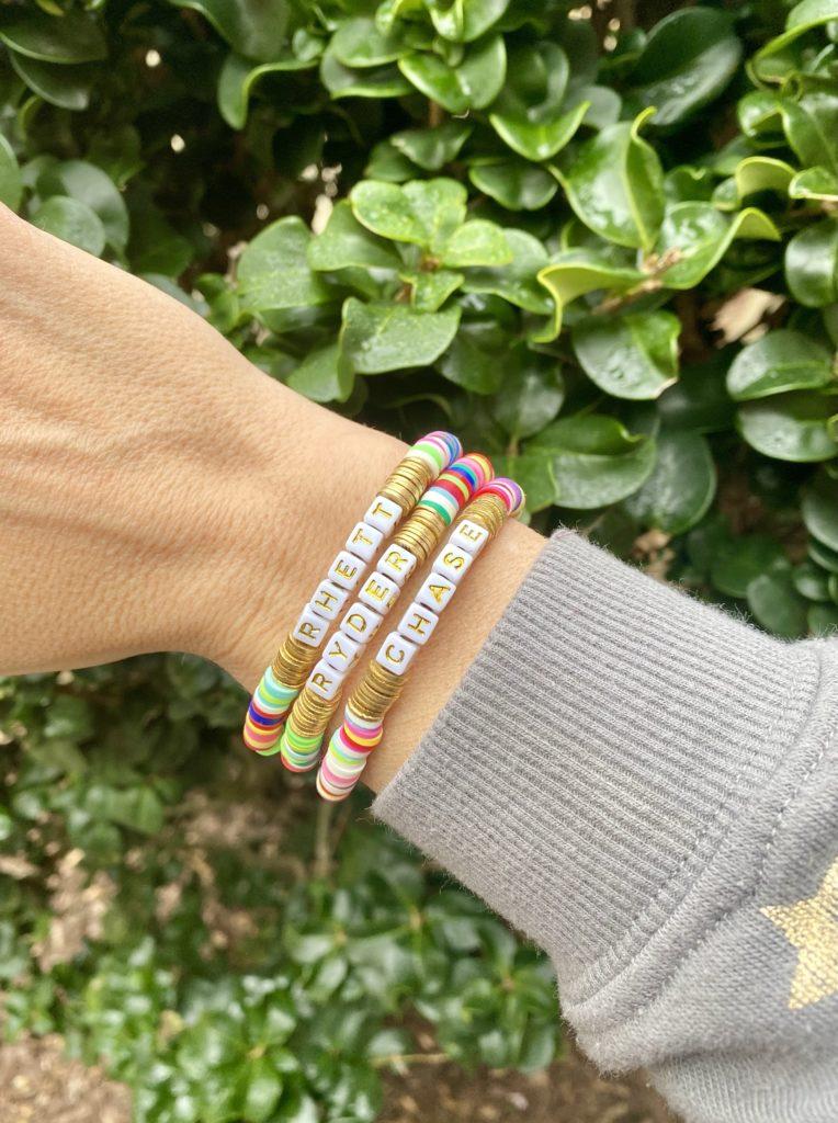 child name bracelets