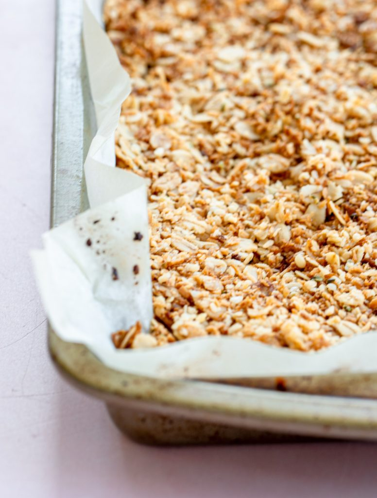 Easy Coconut Granola