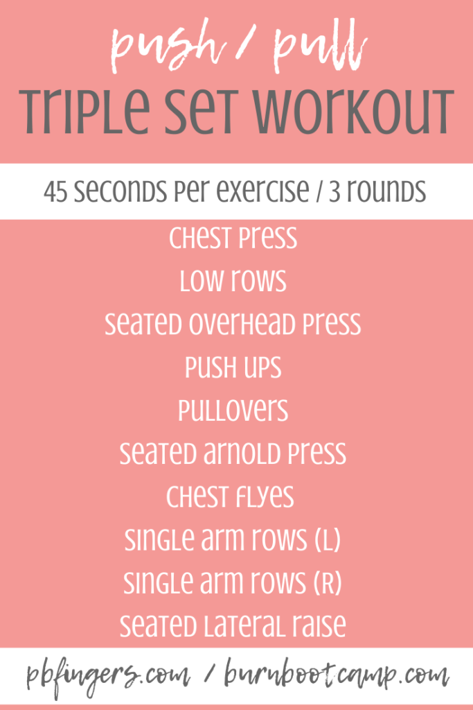 push pull burn boot camp workout