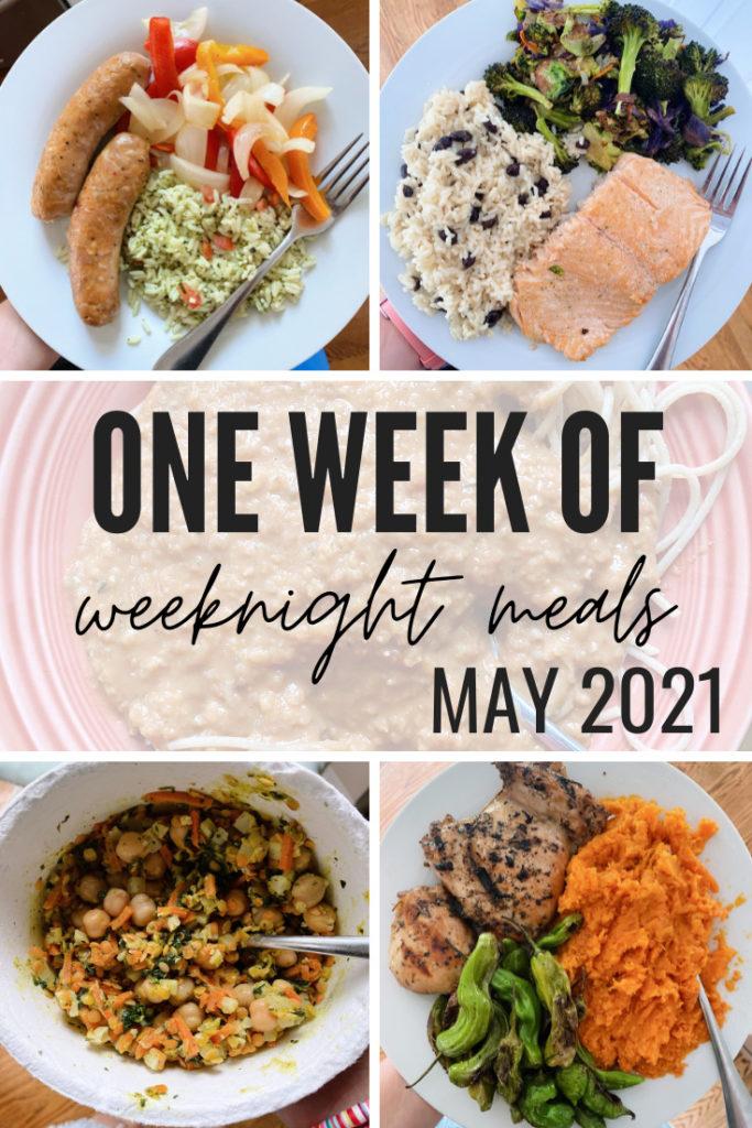 week of weeknight meals