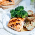 Maple Ginger Grilled Salmon