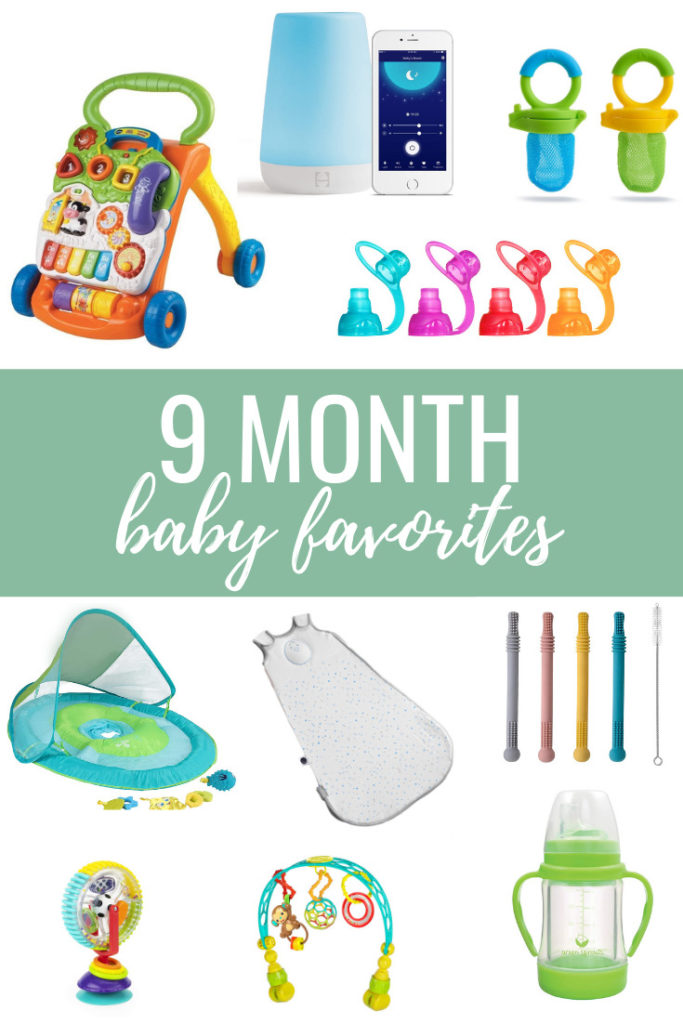 9 month old baby favorites