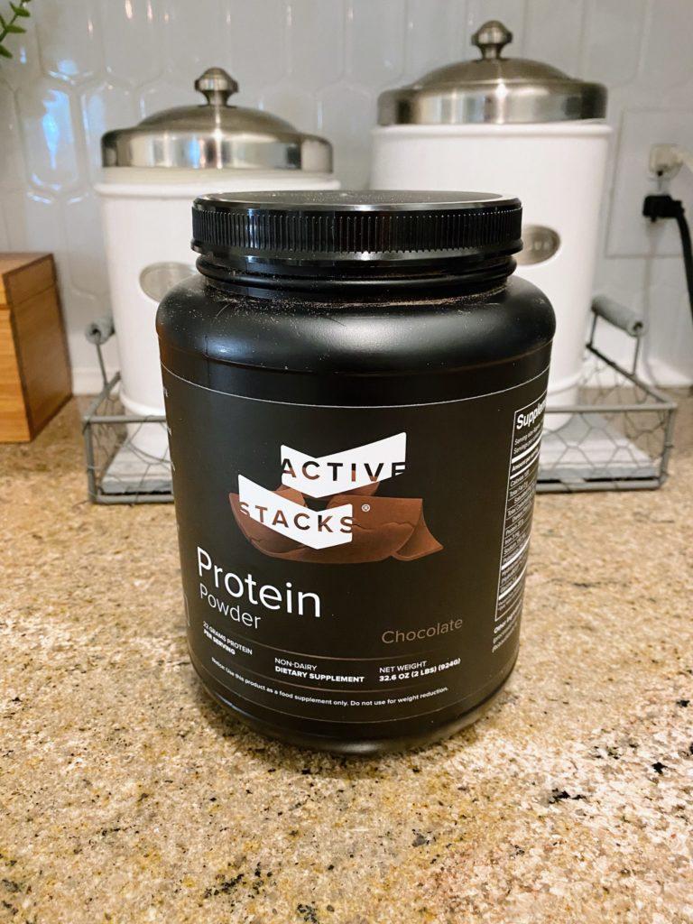 chocolate protein powder active stacks