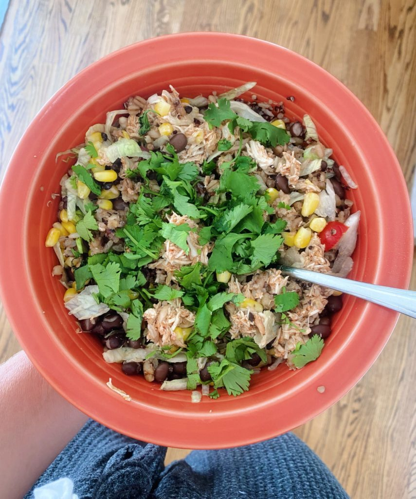 Mexican Chicken Bowls