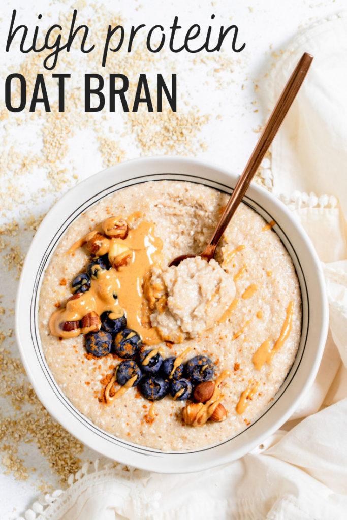 high protein oat bran